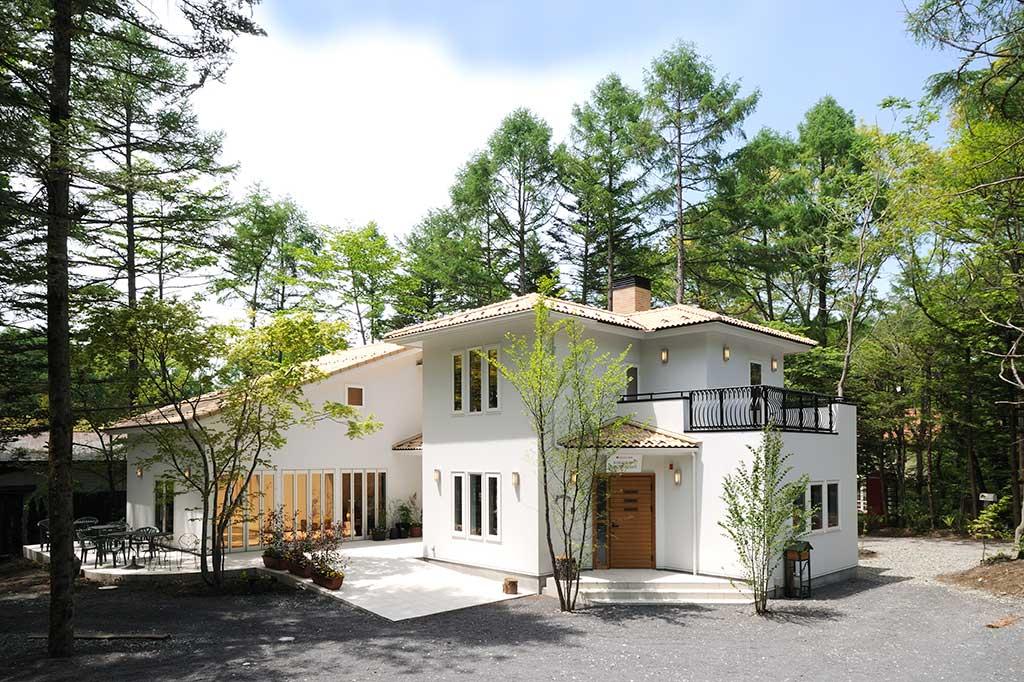 軽井沢モデルハウス